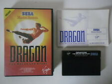 DRAGON THE BRUCE LEE STORY - SEGA MASTER SYSTEM - COMPLET