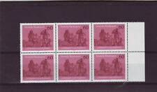 GERMANY/WEST - SG1903 MNH 1979 300th ANNIV PILOTAGE REGS - BLOCK OF 6