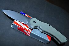 KERSHAW 1725ST SERRATTED JUNKYARD DOG II KNIFE GALYEAN DESIGN DATE: JUN 07 USA