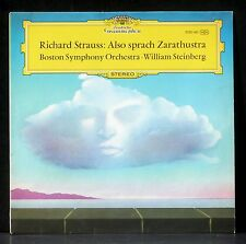 Richard Strauss Also sprach Zarathustra J. Silverstein W.Steinberg LP NM CV  EX
