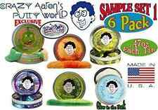 Crazy Aaron's Thinking Putty Mini Tin Gift Set Bundle (Sample Set 1) with Super