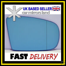 Right Driver Side Wing Mirror Glass  MERCEDES ML W164 05-08 Aspheric BLUE