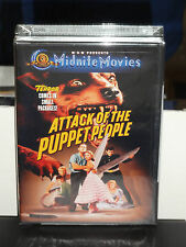 Attack of the Puppet People (DVD) John Agar, John Hoyt, June Kenny, BRAND NEW!
