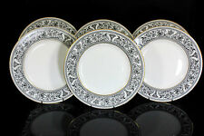 WEDGWOOD FLORENTINE X6 LARGE DINNER PLATES SERVICE W4312