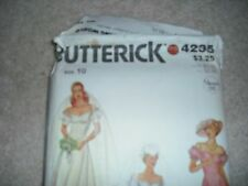 Butterick 4235 Sewing Pattern Wedding Dress Bridal Gown Bridesmaid Vintage 70s