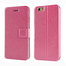 Flip Wallet PU Leather Stand Phone Case Cover Skin For Samsung Galaxy iPhone