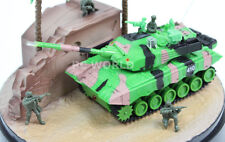 RC 1/32 Micro TANK Mini Radio Control CHINA CHINESE BATTLE TANK W/ Engine Sounds