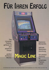 1991 AS SPIELAUTOMATEN MAGIC LINE CABINET GER VIDEO FLYER