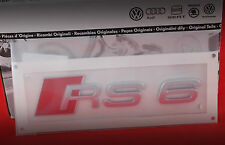 Original Audi RS6 Schriftzug Emblem Logo NEU 4B0 853 740 2ZZ