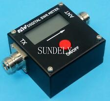 Digital VHF UHF Power & SWR Meter for FT-8800R Radio RED DOT 1050A 100~500mhz