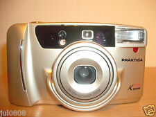 PRAKTICA K300 ZOOM QUARTZ DATE 35MM FILM CAMERA~38-120MM POWER ZOOM LENS (12S12)