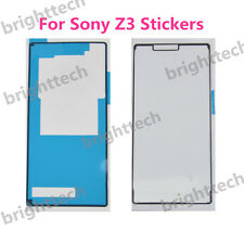 Front & Back sticker tape glue Adhesive For Sony Xperia Z3 L55 D6603 D6643 D6653