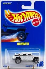 Hot Wheels Collector #188 Hummer White SB's Wheels Police Thick Antenna