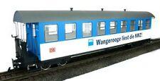 Train Line45 Personenwagen Wangerooge 3330701, 9 Fenster, Spur G, für LGB Kuppl