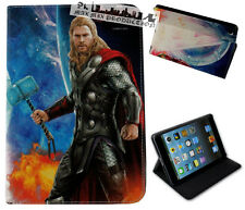 For Apple iPad Mini 1 2 3 4 Marvel Comics Thor Superhero Avengers Case Cover DC