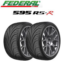 2x Federal 595 RS-R Tyres - Track Day/Race/Road 225/45 ZR17 94W XL (+ALL SIZES)