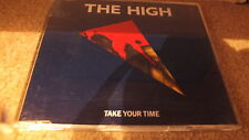 THE HIGH - TAKE YOUR TIME (CD SINGLE)