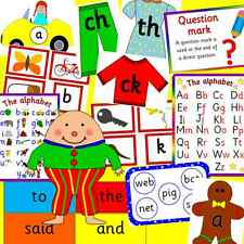 LITERACY bumper resource on CD- phonics, Letters and Sounds, EYFS, KS1, SEN