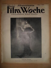FILMWOCHE 28 - 1921 Elsemaria Roscher  Die Verlobungsklinik   Fräulein Detektiv