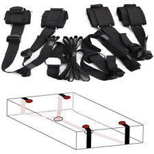 Under Bed Restraint System Bedroom Bondage Cuffs Strap Set Kit Adult SM Sex Toy