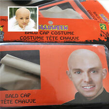Funny Fancy latex Skin Unisex film  The New Skinhead Bald Head Fake Party Dress