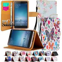 Leather Wallet Flip Stand Case Cover For Various Xiaomi Redmi-1/2/3/Note Phones