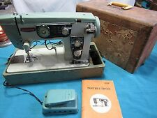 Dressmaker Heavy Duty Sewing Machine Model 950 B Embroidery Upholstery Riccar