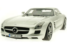 NOREV 2010 Mercedes-Benz SLS AMG Coupé Grey Metallic 1:18 New Item!