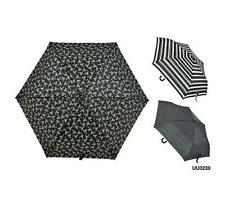 KS Brands UU0239 Ladies Fashion Assorted Bow Spot And Stripe Print Umbrella New