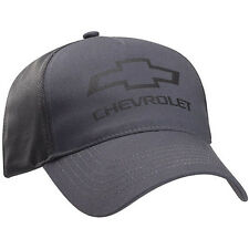 Chevrolet Chevy Bowtie Cotton Polyester Twill Mesh Gray Licensed Hat Cap