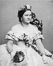 New 11x14 Photo: First Lady Mary Todd Lincoln Portrait, circa 1860