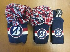 NEW Bridgestone Golf Limited Edition USA Wood Head cover Set