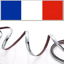 10mm x 3m BANDE ELEGANT ADHESIVE CHROME AUTO BAGUETTE DECORATIVE VOITURE CAMION