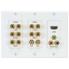 Wired Home WPI-51HD 5.1 Channel with HDMI Component Wall P