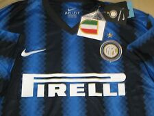 Nike Dri Fit Inter Milan Blue Home Jersey for 2010-11 12 Season Jersey Size L