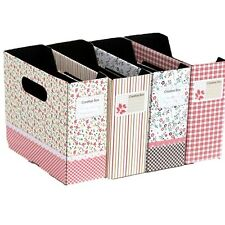 Stylish Cosmetic Stationery Table Paper Board Storage Box Decor Organizer