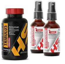 T-Power Testosterone Booster Spray + Tribulus Terrestris 1000mg 90 Tab SEB (2+1)