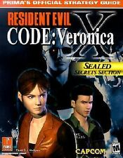Resident Evil Code: Veronica X: Prima's Official Strate