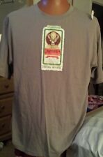 Jagermeister Herbal Liquor  Party Night Life sz L Large Gray T-Shirt 100% Cotton