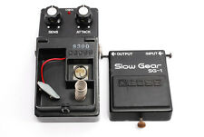 **Exc-** Very Rare Exc Boss Slow Gear SG1  Vintage Pedal w/Silver Screw Exc #620