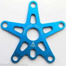NEPTUNE BMX old school retro style 5-BOLT SPIDER 110mm bcd BLUE Made in USA!