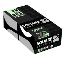 NEW SQUARE PROTEIN BAR CHOCOLATE COATED CRUNCH GLUTEN FREE WHOLE GRAIN HEALTHY