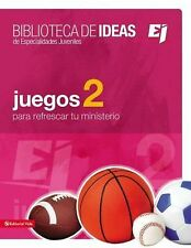 Biblioteca de ideas: Juegos 2 by Youth Specialties (2012, Paperback)