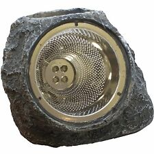 6 Outdoor Garden 4-LED Solar Decorative Rock Stone Spot Lights Lamp Yard Light