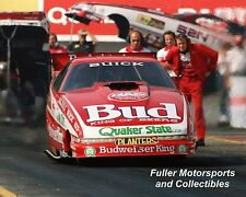 KENNY BERNSTEIN 1989 BUD BUICK NHRA FUNNY CAR 8X10 PHOTO MAPLE GROVE RACEWAY