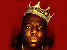 "005 The Notorious B.I.G - Biggie Smalls American Rapper Music 19""x14"" Poster"