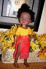 2010 Playmates Doll RAHEL African American Girl Hearts for Hearts G2G
