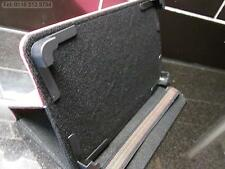 "Dark Pink 4 Corner Grab Angle Case/Stand for Hyundai A7 HD 7"" A10 Android Tablet"
