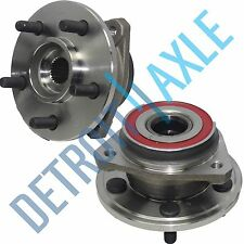 Both (2) New FRONT Wheel Hub & Bearings for Cherokee TJ Wrangler - 5 Lug