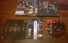 Omega Boost PS1 Ottima 1a Stampa Jap NTSC con Spine Card & Manuale